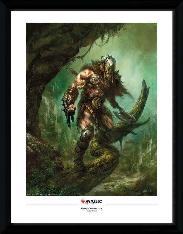 Magic The Gathering: Garruk Wildspeaker - Collector Print (41x30.5cm)