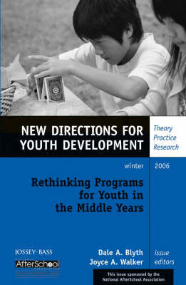Rethinking Programs for Youth in the Middle Years