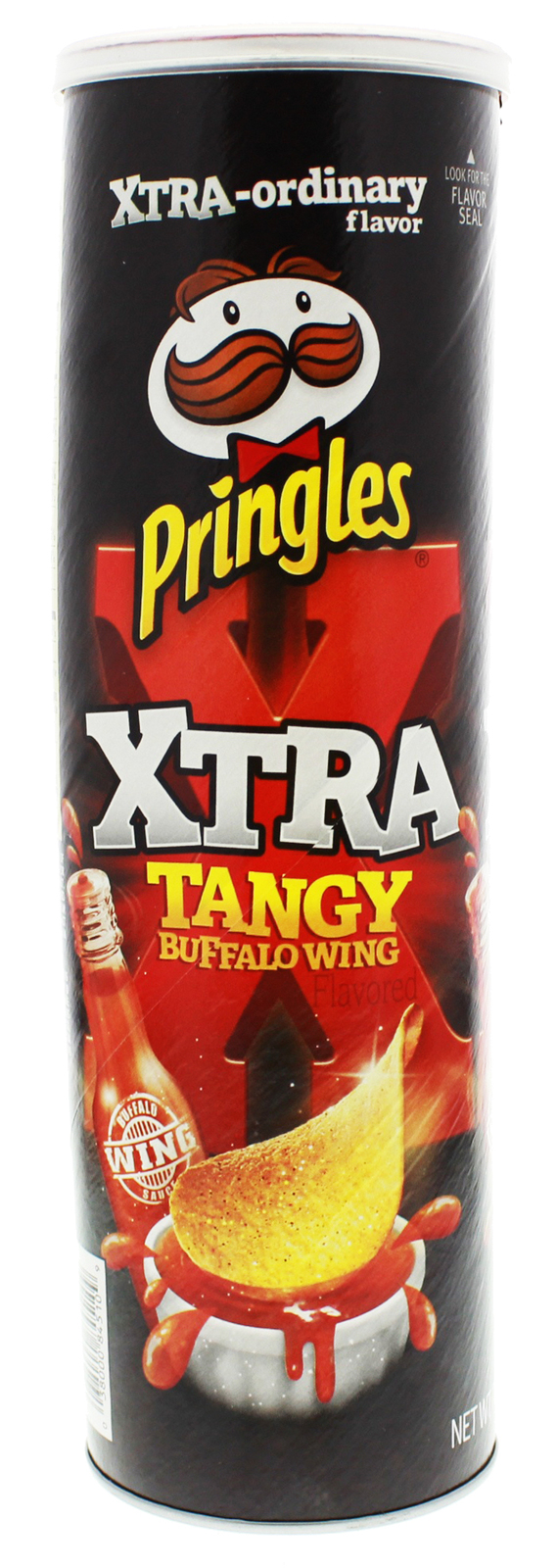 Pringles Xtra Tangy Buffalo Wing flavour 158g image