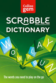 Collins Gem Scrabble Dictionary by Collins Dictionaries