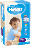 Huggies Nappies Bulk - Toddler Boy 10-15 kg (36)