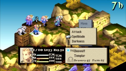 Final Fantasy Tactics: The War Of The Lions for PSP image
