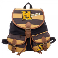 Harry Potter: Varsity Knapsack Bag - (Hufflepuff)