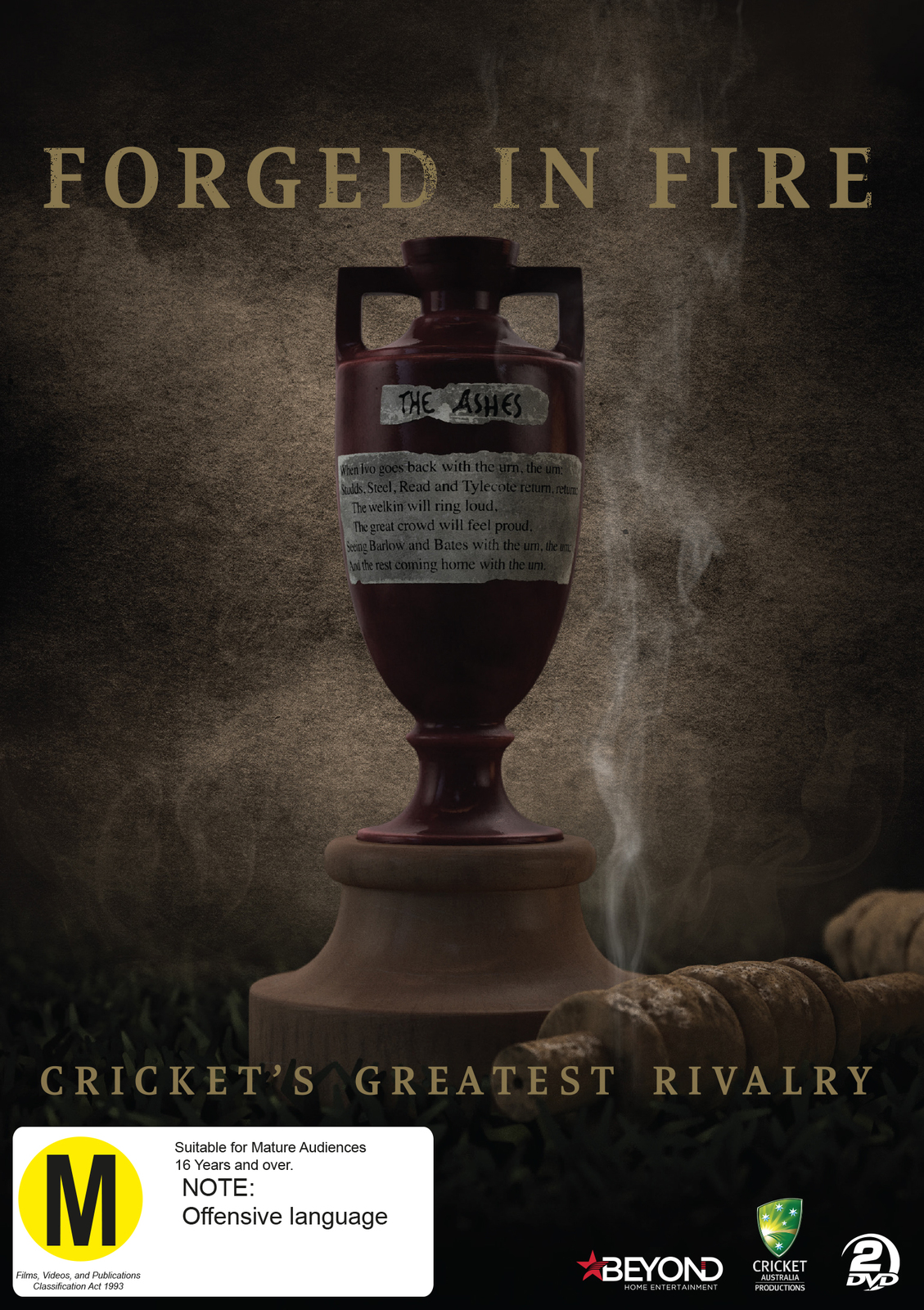 Forged In Fire: Cricket's Greatest Rivalry on DVD image