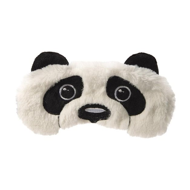 IS GIFT Plush Panda Sleep Mask