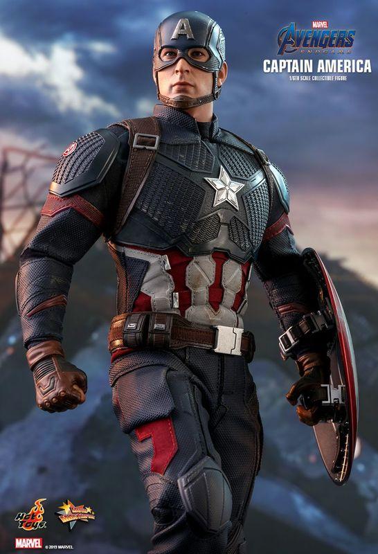 "Avengers: Endgame - Captain America - 12"" Articulated Figure"