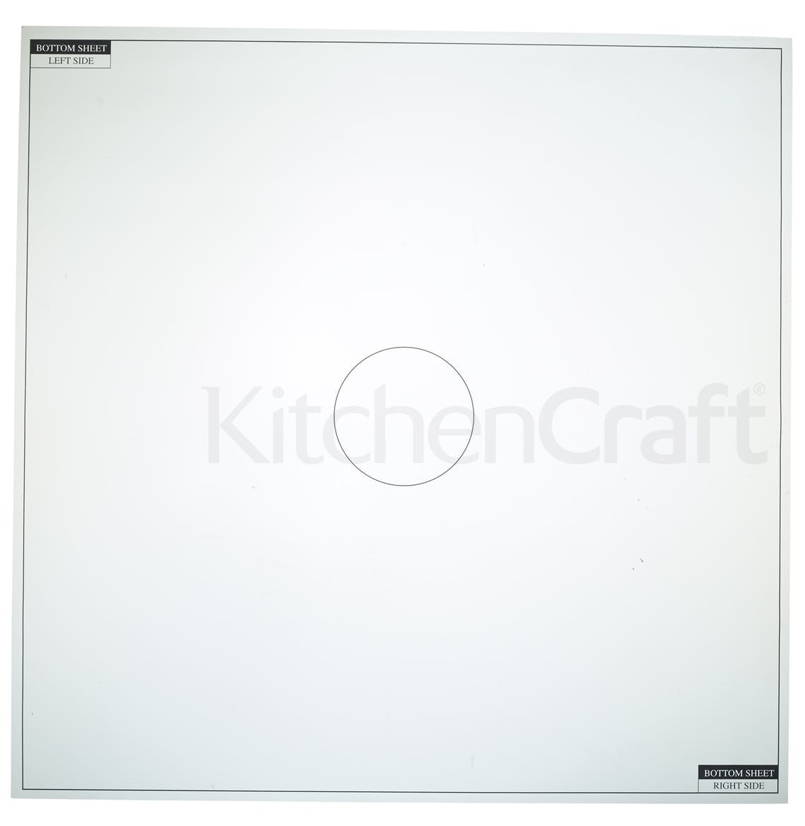 KitchenCraft: Sweetly Does It Icing Mat - (50cm) image