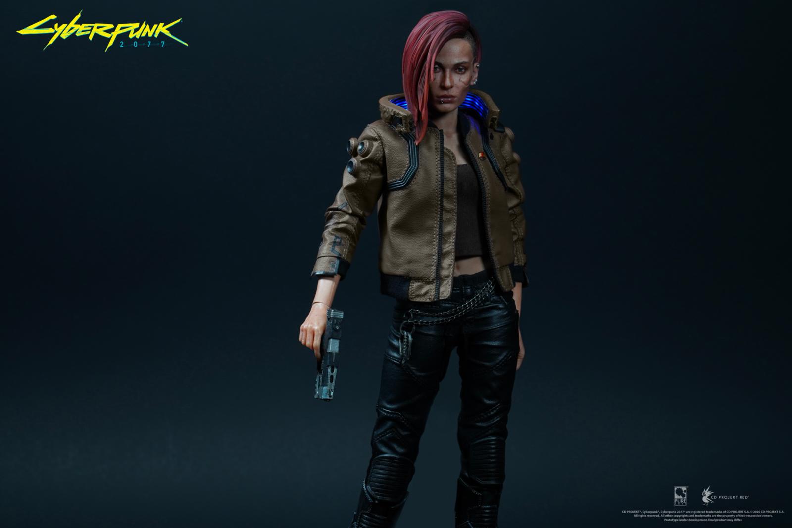 Cyberpunk 2077: V-Female & Yaiba Kusanagi - 1:6 Scale Articulated Figure Set image