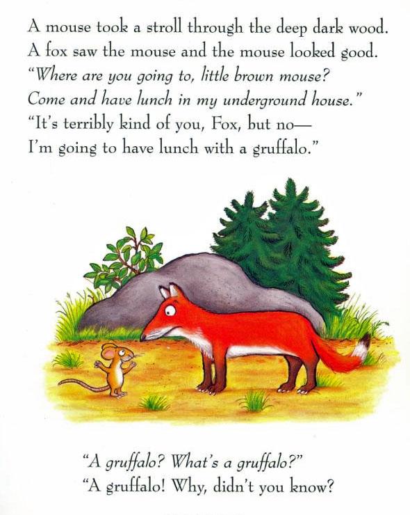 The Gruffalo (Board Book + Toy) by Julia Donaldson image