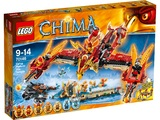 LEGO Legends of Chima - Flying Phoenix Fire Temple (70146)