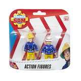 Fireman Sam Figure Pack - Sam With Axe & Officer Steele