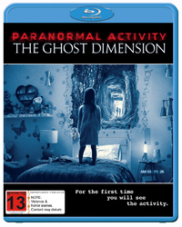 Paranormal Activity: The Ghost Dimension on Blu-ray