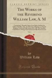 The Works of the Reverend William Law, A. M, Vol. 2 by William Law image