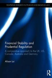 Financial Stability and Prudential Regulation by Alison Lui