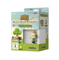Animal Crossing: Happy Home Designer + Amiibo Isabelle for Nintendo 3DS