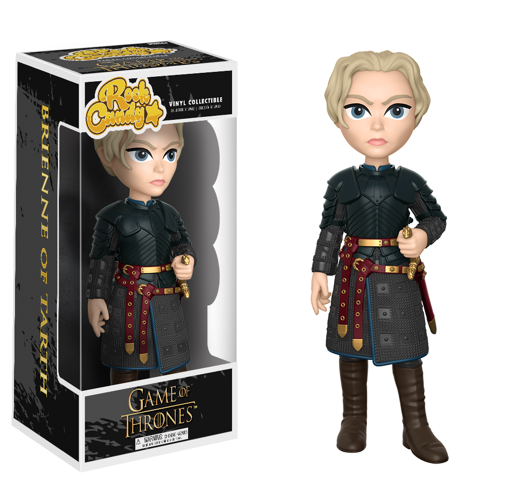 Game of Thrones - Brienne of Tarth Rock Candy Vinyl Figure image
