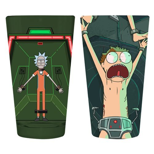 Rick and Morty - Pint Glass 2-Pack