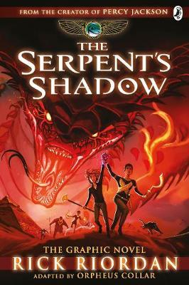 The Serpent's Shadow: The Graphic Novel (The Kane Chronicles Book 3) by Rick Riordan image