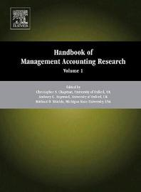 Handbook of Management Accounting Research: Volume 2