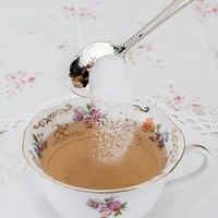 Pinky Up: Hey Sugar Tea Spoons - (Set of 2) image