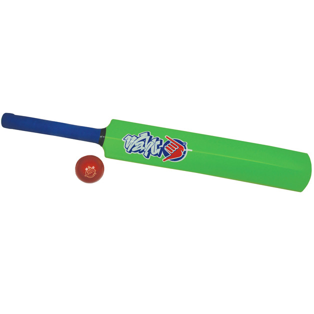 Wahu: Cricket Bat & Ball Set - Green