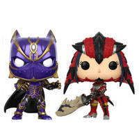 MVC: Infinite - Black Panther vs. Monster Hunter Pop! Vinyl 2-Pack