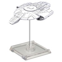 Star Trek: Deep Cuts Unpainted Miniatures - Defiant Class