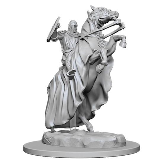 Pathfinder Deep Cuts: Unpainted Miniature Figures - Knight on Horse image