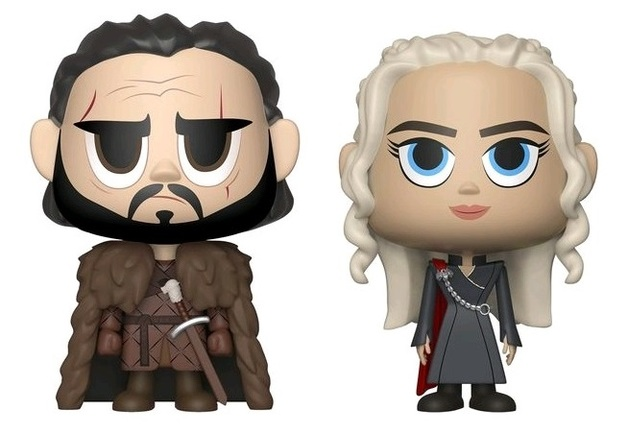 Game of Thrones: Daenerys Targaryen + Jon Snow - Vynl. Figure 2-Pack