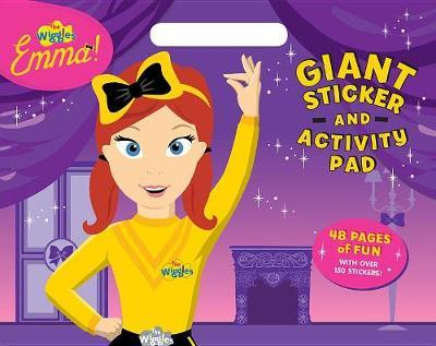 The Wiggles Emma!: Giant Sticker and Activity Pad by The Wiggles