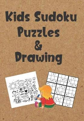 Kids Sudoku Puzzles and Drawing by Zeezee Books