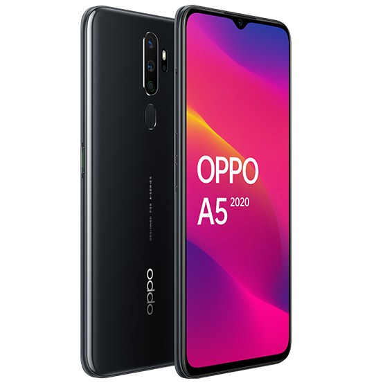 OPPO A5 2020 (3GB+64GB) Smartphone - Mirror Black