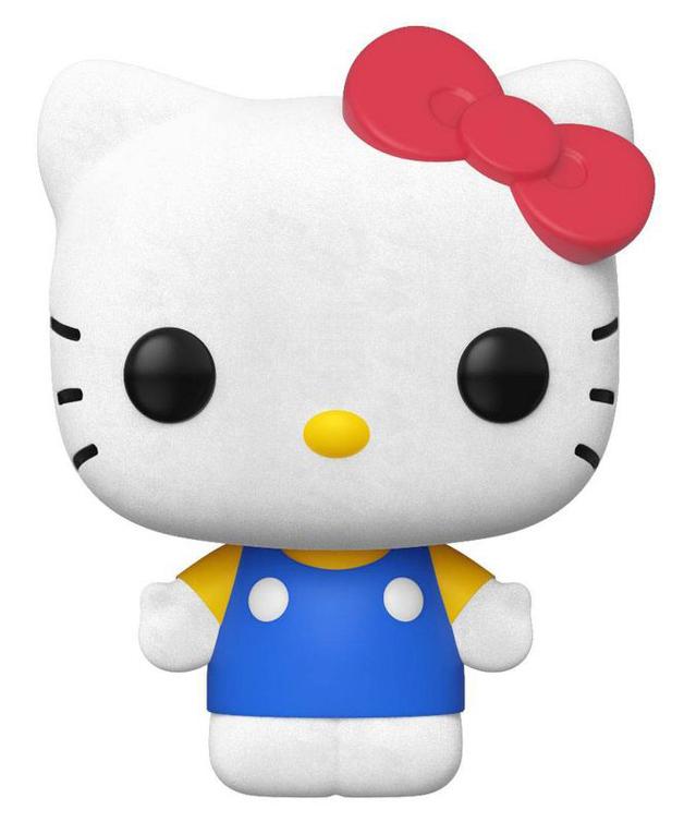 Sanrio: Hello Kitty (Flocked Ver.) - Pop! Vinyl Figure