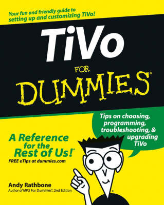 TiVo for Dummies by Andy Rathbone image