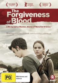The Forgiveness of Blood on DVD