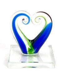 Handcrafted Glass Koru Ornament