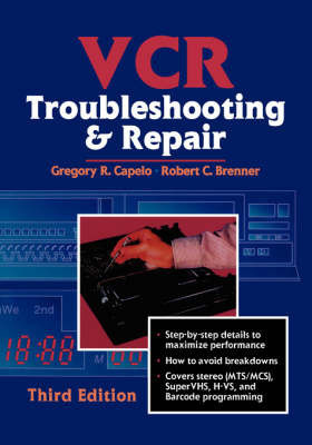 VCR Troubleshooting and Repair by Robert Brenner