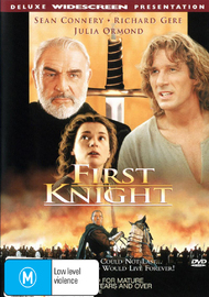 First Knight on DVD image