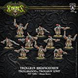 Hordes: Trollblood Trollkin Highwaymen Unit (Plastic)