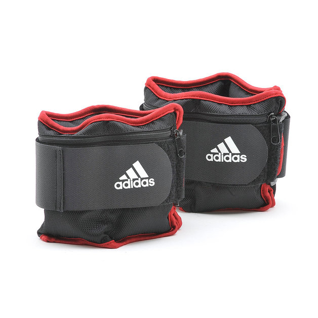 Adidas Adjustable Ankle Weights (2 x 2kg)