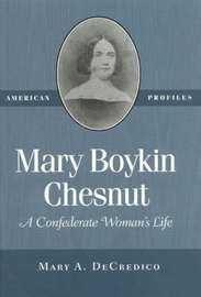 Mary Boykin Chesnut by Mary A DeCredico image