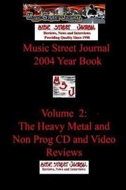 Music Street Journal by Gary Hill