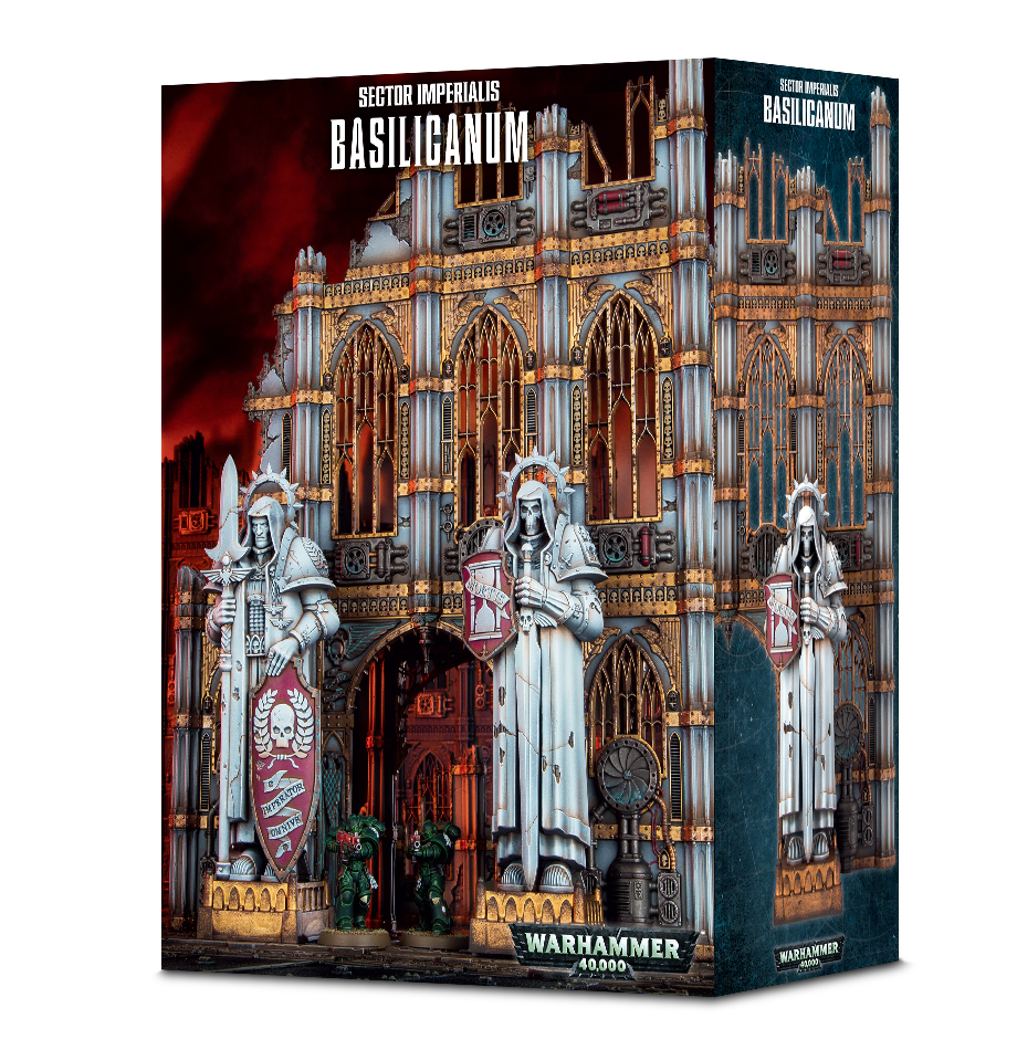 Warhammer 40,000: Sector Imperialis - Basilicanum image