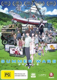 Summer Wars (2 Disc Set) on DVD