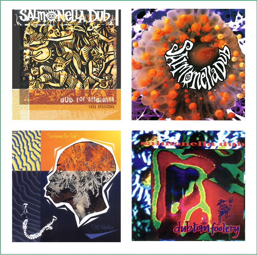 Starting Plates: A Selection From 1993 - 1996 by Salmonella Dub image