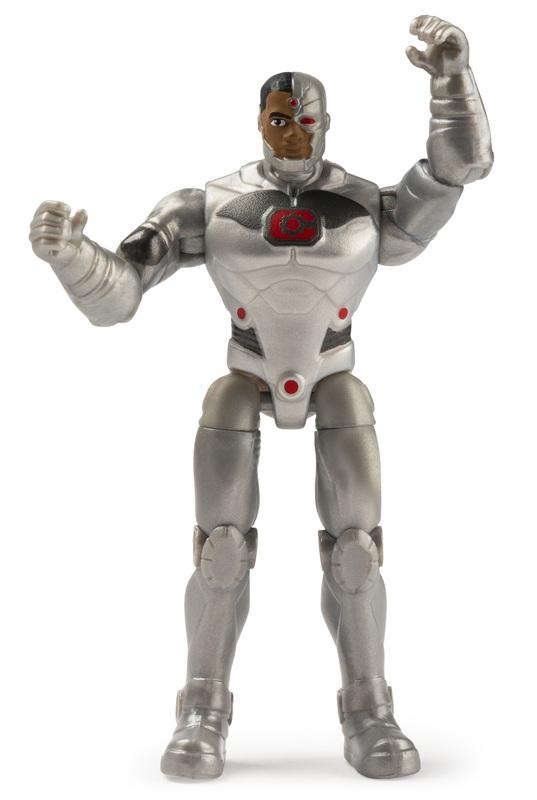 DC Comics: Cyborg - Mystery Mission Figure