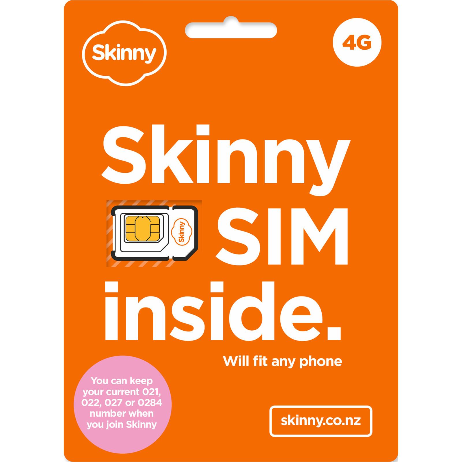 Skinny Prepaid SIM Trio 3 in 1 image