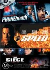 Phone Booth / Speed / The Siege on DVD