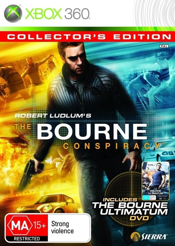 The Bourne Conspiracy: Collector's Edition for X360