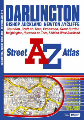 Darlington Street Atlas by Geographers A-Z Map Company
